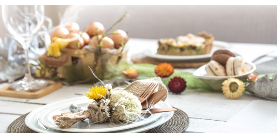 Velykų stalo dekoras: paprastas, kasdienis ir oficialus