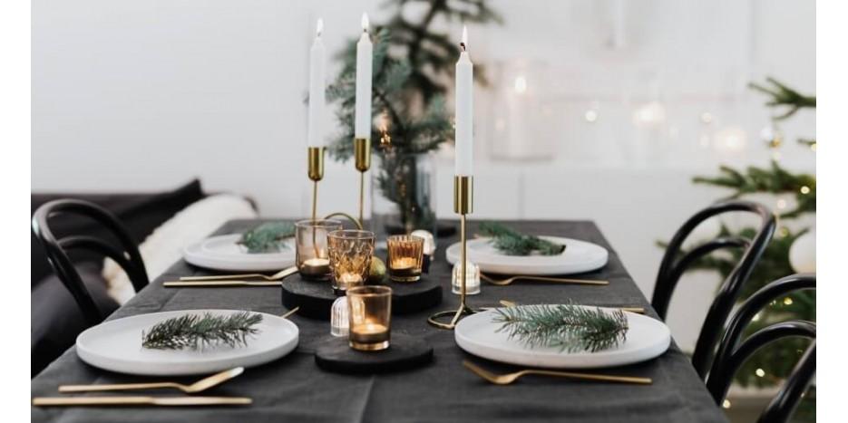 Šventinis dekoras: kaip serviruoti stalą šiemet?