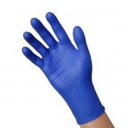 Mėlynos nitrilinės pirštinės be pudros (dydis - S), 200 vnt. **