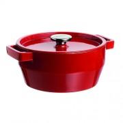 Raudonas ketaus puodas Pyrex SLOWCOOK, 24 cm 3,6 l