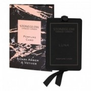 Parfumuota kortelė Stoneglow DARK AMBER & VETIVER *