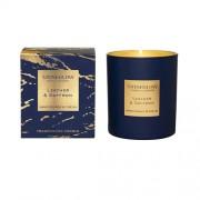 Parfumuota žvakė Stoneglow LEATHER & SAFFRON *