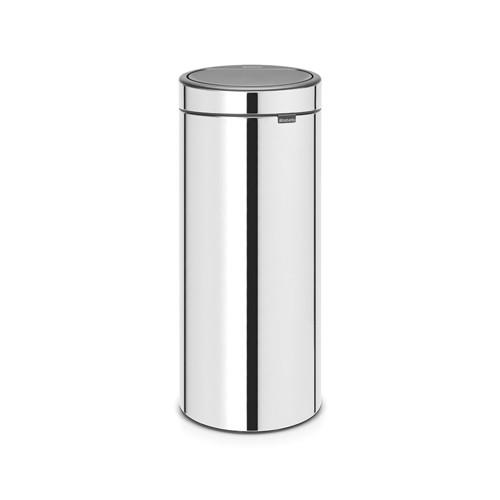Brabantia 30 Liter Touch Bin.Sidabrinė Siukslių Dėzė Brabantia Touch Bin New 30 L