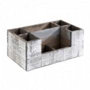 Medinė stalo dėžutė įrankiams ir prieskoninėms Aps, 7 sk. *