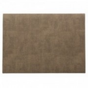 Dirbtinės odos šviesiai rudas stalo padėkliukas Asa MELI-MELO, 33x46 cm