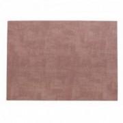 Dirbtinės odos rožinis stalo padėkliukas Asa MELI-MELO, 33x46 cm