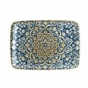 Porcelianinė stačiakampė lėkštė Bonna ALHAMBRA, 23x16 cm