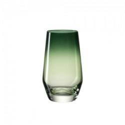 Žema žalia stiklinė Leonardo PUCCINI, 365 ml