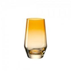 Žema geltona stiklinė Leonardo PUCCINI, 365 ml
