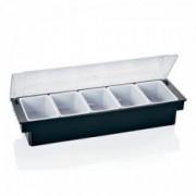 Penkių dalių prieskonių dėžutė su dangčiu Was, 55 ml *