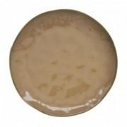 Porcelianinė oranžinė lėkštė Easy Life INTERIORS, 26 cm