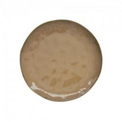 Porcelianinė oranžinė lėkštė Easy Life INTERIORS, 21 cm