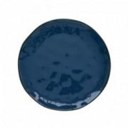 Porcelianinė mėlyna lėkštė Easy Life INTERIORS, 21 cm