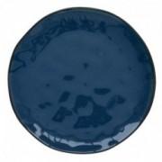 Porcelianinė mėlyna lėkštė Easy Life INTERIORS, 26 cm