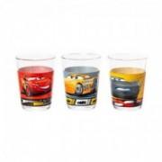 Vaikiškas stiklinių rinkinys Luminarc CARS 3, 160ml, 3vnt.