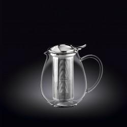 Skaidrus termo arbatinukas Wilmax, 600 ml