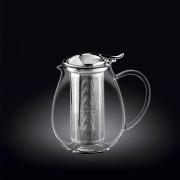 Skaidrus termo arbatinukas Wilmax, 850 ml