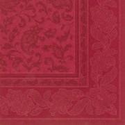 Tamsiai raudonos spalvos servetėlės PapStar ROYAL ORNAMENTS, 50 vnt. *