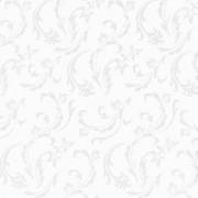 Baltos spalvos servetėlės su ornamentais PapStar ROYAL DAMASCATO, 50 vnt. *