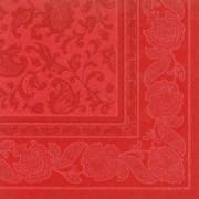 Raudonos spalvos servetėlės su ornamentais PapStar ROYAL ORNAMENTS, 50 vnt. *