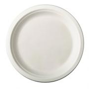 Vienkartinės lėkštės iš cukranendrių PapStar, 26 cm, 50 vnt. *