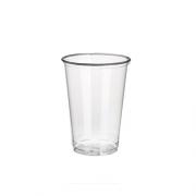 Skaidrūs vienkartiniai puodeliai šaltiems gėrimams PapStar PURE, 0,2 l, 100 vnt. *