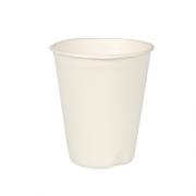 Vienkartiniai balti puodeliai iš cukranendrių PapStar, 40 vnt. *