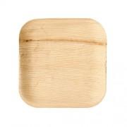 Vienkartinės lėkštės iš palmės lapų PapStar, 18x18 cm, 25 vnt. *