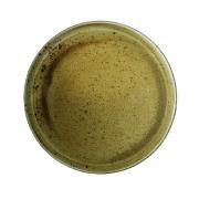 Ruda porcelianinė pietų lėkštė su kanteliu G. BENEDIKT COUNTRY, 27 cm
