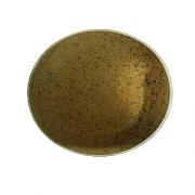 Ruda porcelianinė lėkštė steikui G. BENEDIKT COUNTRY, 30 cm