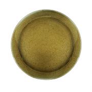 Ruda porcelianinė lėkštė G. BENEDIKT COUNTRY, 26 cm