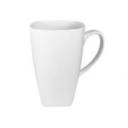 Baltas porcelianinis puodelis, 460 ml