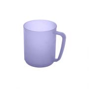 Plastikinis violetinis puodelis Plast Team HAWAII, 350 ml