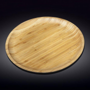 Apvalus bambukinis serviravimo indas Wilmax, 45,5 cm