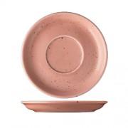Koralinės spalvos lėkštutė po puodeliu Lilien Austria LIFESTYLE, 15 cm