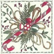 Kalėdinės servetėlės Ihr CHRISTMAS FLORISTRY, 25x25 cm