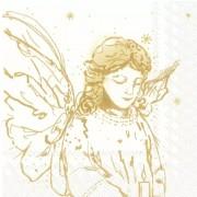 Kalėdinės servetėlės Ihr LIKE AN ANGEL, 33x33 cm