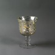 Žvakidė ant kojelės Werner Voss, 14x19 cm