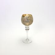 Stiklinė žvakidė ant kojelės Werner Voss ALICE, 30 cm