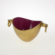 Aliuminis auksinės spalvos šampano atšaldymo indas Werner Voss, 21x21x15 cm