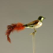 Stiklinė paukščio dekoracija Werner Voss, 8 cm