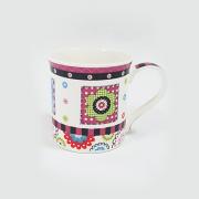 Kaulinio porceliano puodelis, 355 ml