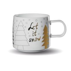 Kalėdinis puodelis Asa LET IT SNOW, 350 ml