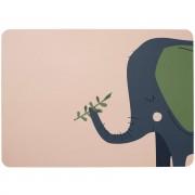 Vaikiškas stalo padėkliukas Asa EMMA Elephant, 33 x 46 cm