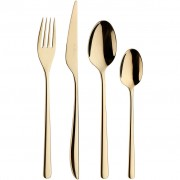 Stalo įrankių rinkinys Pintinox FLORENCE, auksinis, dovanų dėžutėje, 24 d.
