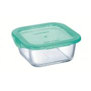 Kvadratinis indas maisto laikymui Luminarc KEEP'N BOX, 0,36 L
