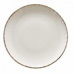 Balta porcelianinė lėkštė Bonna RETRO, 27 cm