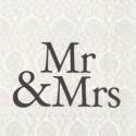 Popierinės servetėlės Ihr Mr & Mrs Black, 33x33 cm