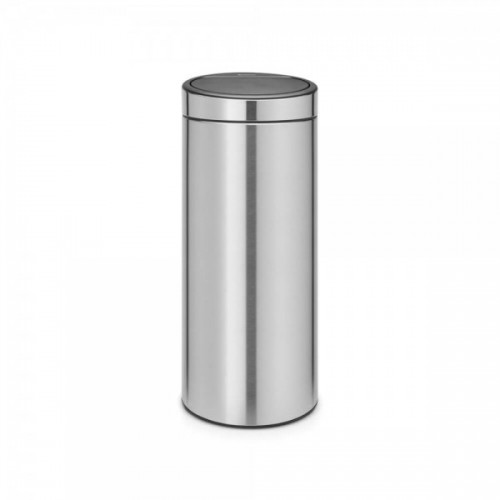 Touch Bin 30 Liter.Matinio Metalo Siukslių Dėzė Brabantia Touch Bin 30 L