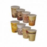 Popieriniai puodeliai Vispack 100 vnt., 100 ml **